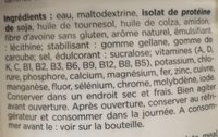 Prêt à boire Vanille - Zutaten - fr