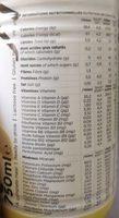 Prêt à boire Vanille - Nährwertangaben - fr