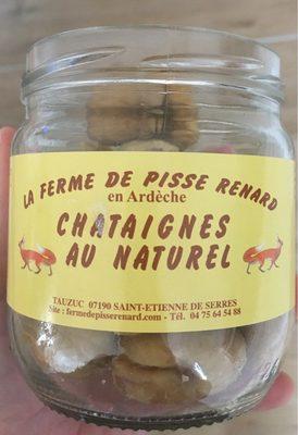 Chataignes au naturel - Product