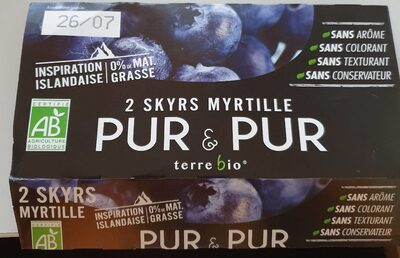 Skyrs myrtille - Product