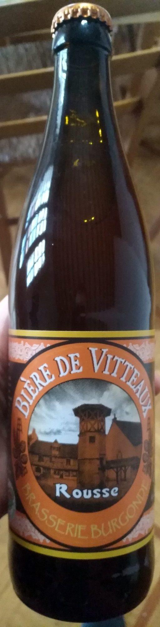 Bière de Vitteaux Rousse - Produit