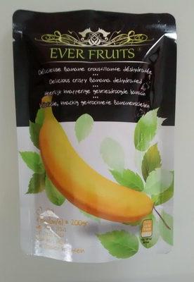 Délicieuse banane croustillante déshydratée - Product - en