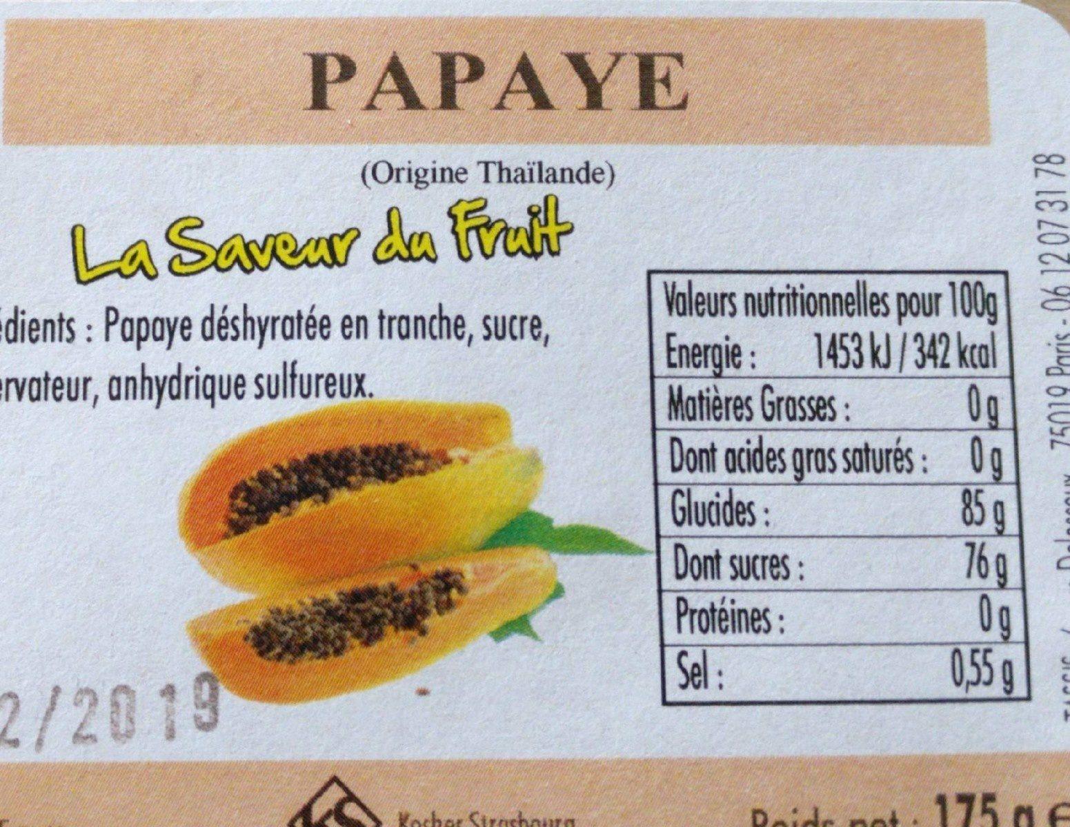Papaye - Produit - fr