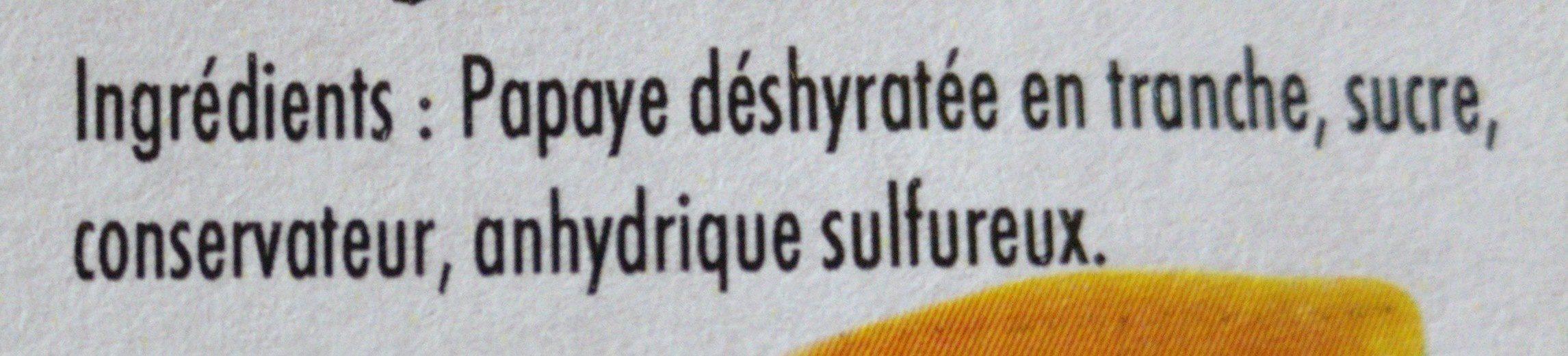 Papaye - Ingrédients - fr