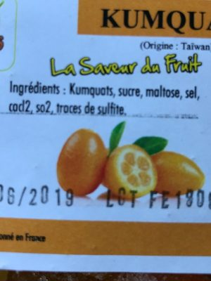 Kumquats - Ingredients