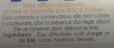 B06 - Ingredients - fr