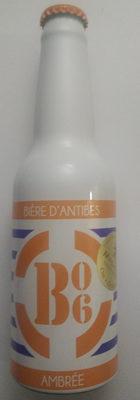 Bière d'Antibes Ambrée - Product - fr