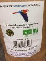Farine de sarrasin Bio dularzac - Ingredients