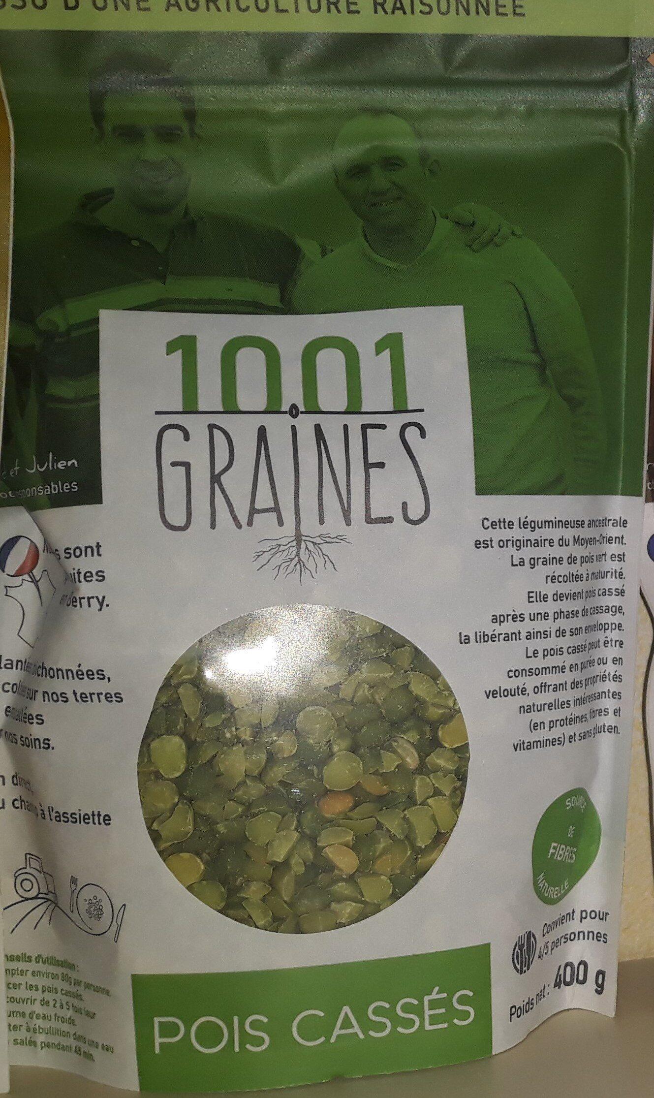POIS CASSÉS 1001 GRAINES - Ingredients - fr