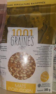 MAÏS POP-CORN 1001 GRAINES - Product - fr