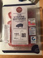 Schweine-Bratwurst - Produit - de