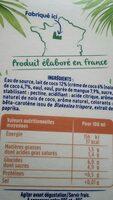 Coco plaisir - Ingrédients - fr