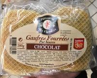 Gaufres fourrées chocolat - Product - fr