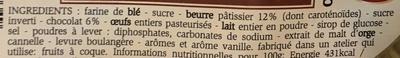 Gaufres fourrées chocolat - Ingrediënten - fr