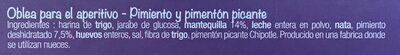 Gaufrettes apéritives au Poivron et piment - 6