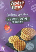 Gaufrettes apéritives au Poivron et piment - Product