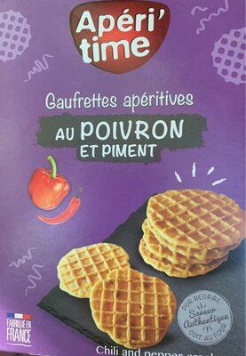 Gaufrettes apéritives au Poivron et piment - Producto