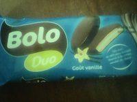 Bolo Duo goût Vanille - Produit