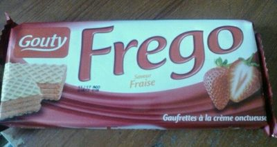 FREGO FRAISE - Produit