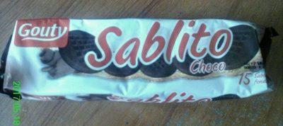 SABLITO Chocolat - Produit