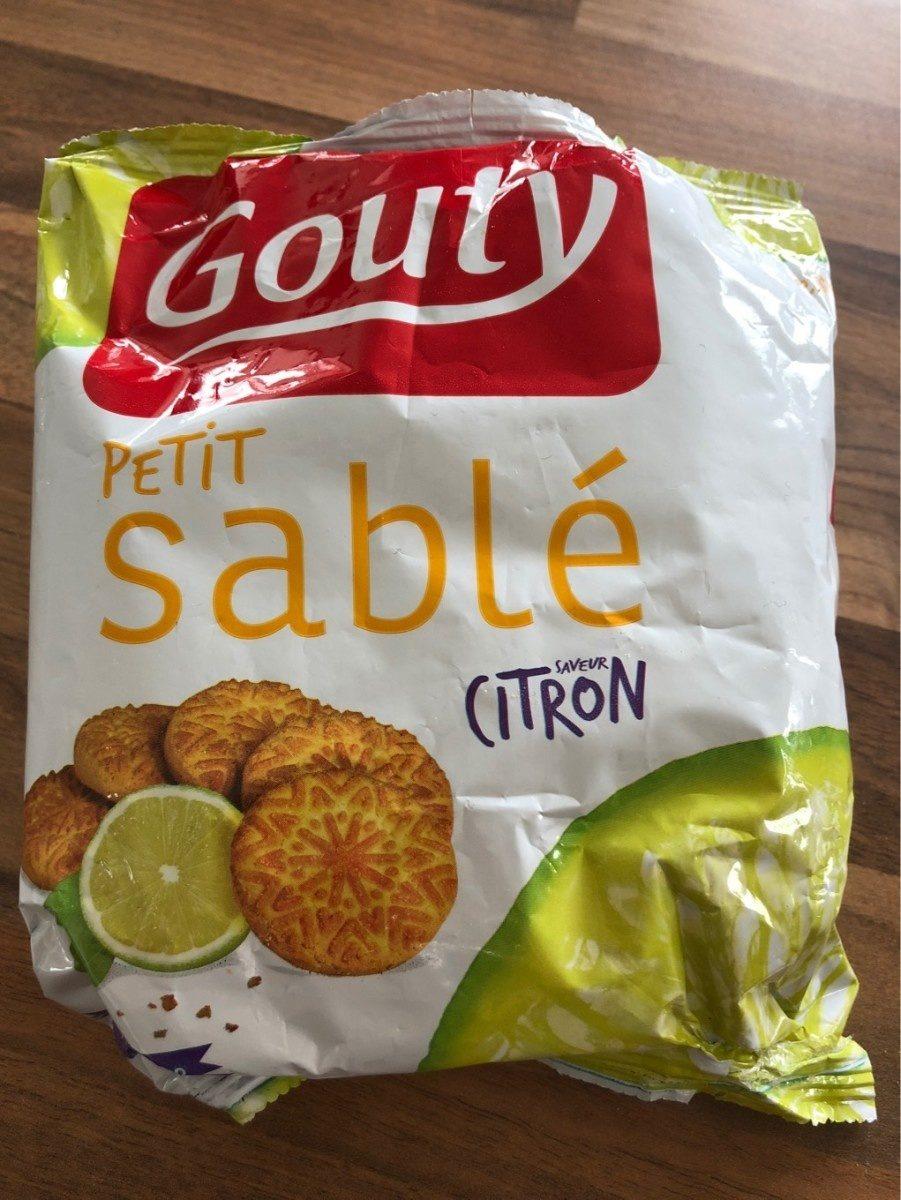 Petit sablé citron - Produit - fr