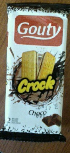 GOUTY CROCK Choco - Produit