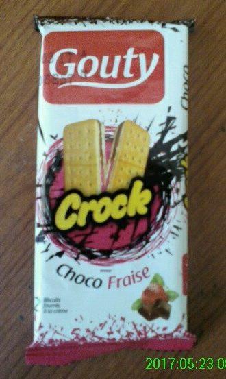 GOUTY CROCK Choco Fraise - Produit - fr