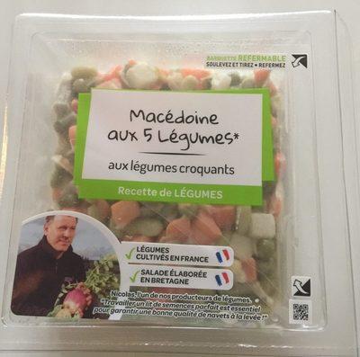 Macédoine aux 5 Légumes - mayonnaise - Product - fr