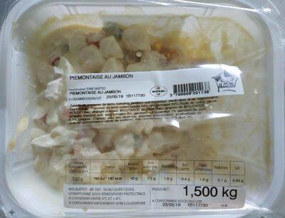 Piémontaise au jambon - Product - fr
