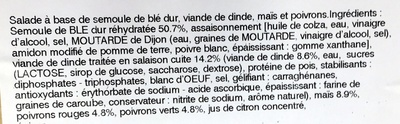 Taboulé volaille - Ingrediënten - fr
