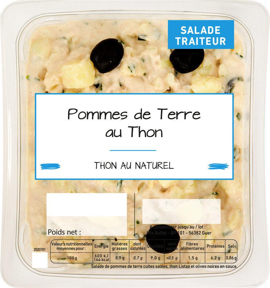 Pommes de terre au thon - Produit - fr