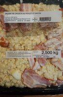 Salade de crozets au poulet et bacon - Produit