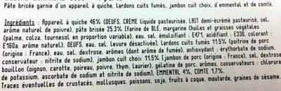 Quiche Lorraine - Ingrediënten
