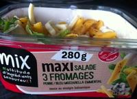 Maxi Salade 3 Fromages (Bleu, Mozzarella, Emmental) Penne - Produit