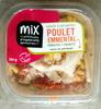 Salade & Serpentini Poulet Emmental Tomates Crudités sauce au parmesan - Product