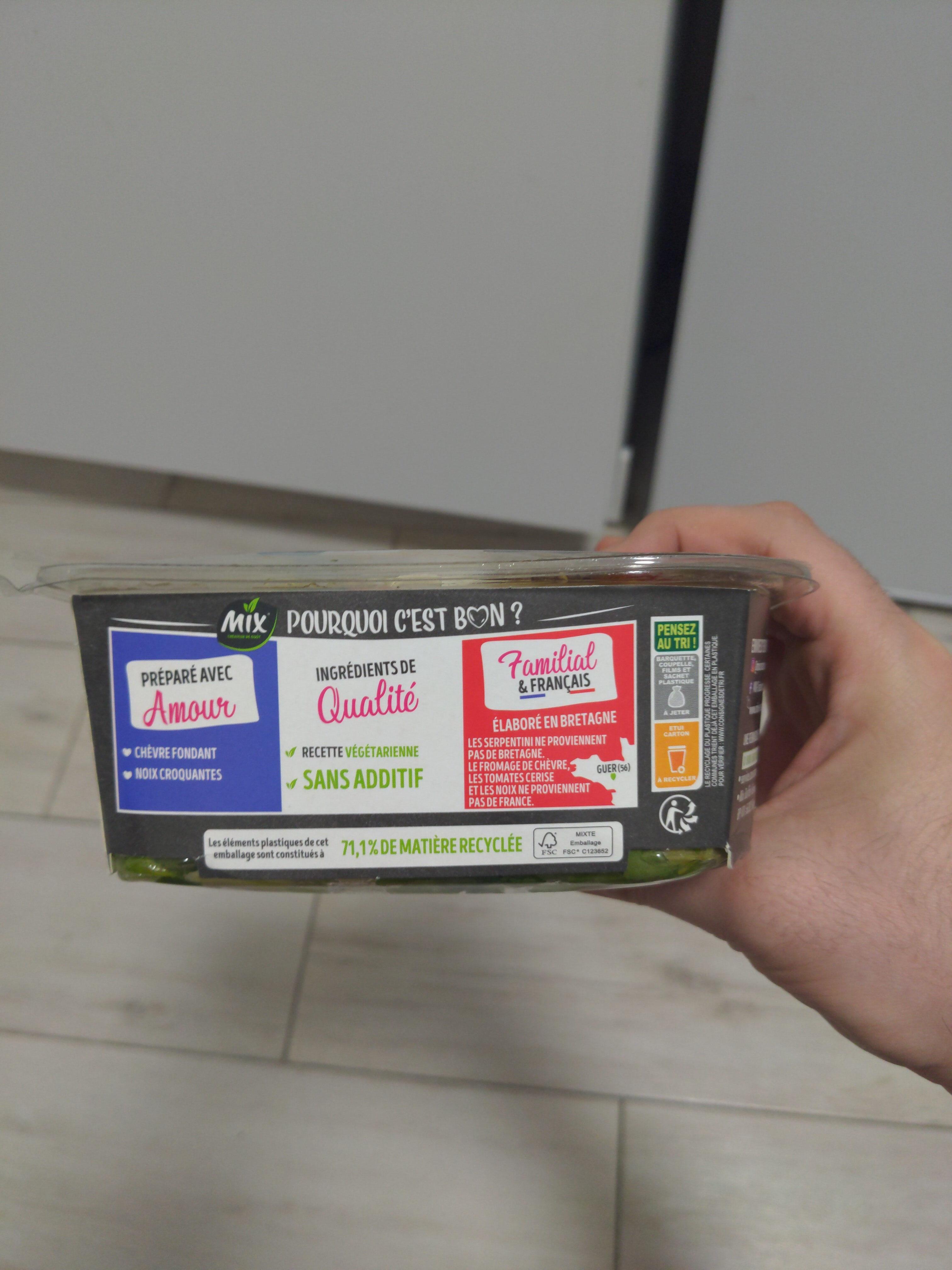 Salade Bol Chèvre Mix - Instruction de recyclage et/ou informations d'emballage - fr