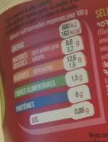 Salade & Penne Poulet pané Cheddar Oeuf Crudités - Nutrition facts - fr