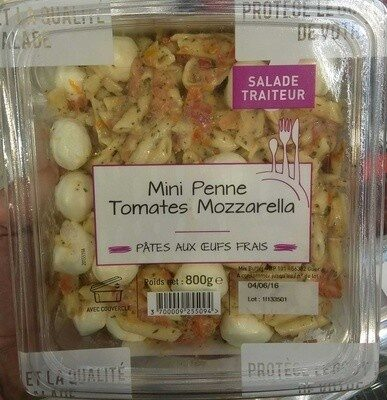 Mini Penne Tomates Mozzarella - Produit - fr