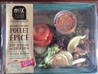Salades Mezze Poulet Epicé + Daim - Produit - fr