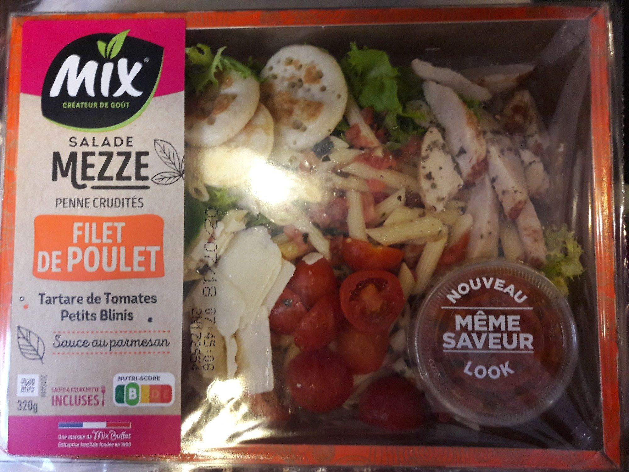 Salad mezze Filet de Poulet - Produit - fr