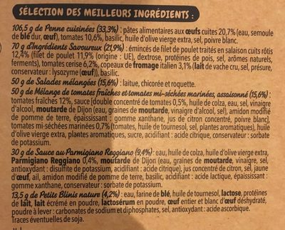 Salad mezze Filet de Poulet - Ingrédients - fr