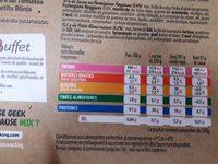 Salad mezze Filet de Poulet - Informations nutritionnelles - fr