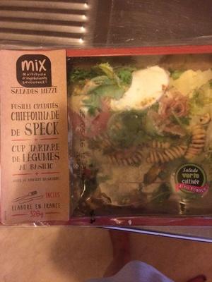 Salade Mezze Chiffonnade de Speck, 320g - Produit - fr