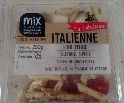 La fabuleuse Italienne, Mini penne, Jambon speck, 250g - Produit