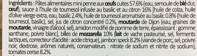 La fabuleuse Italienne, Mini penne, Jambon speck, 250g - Ingrédients