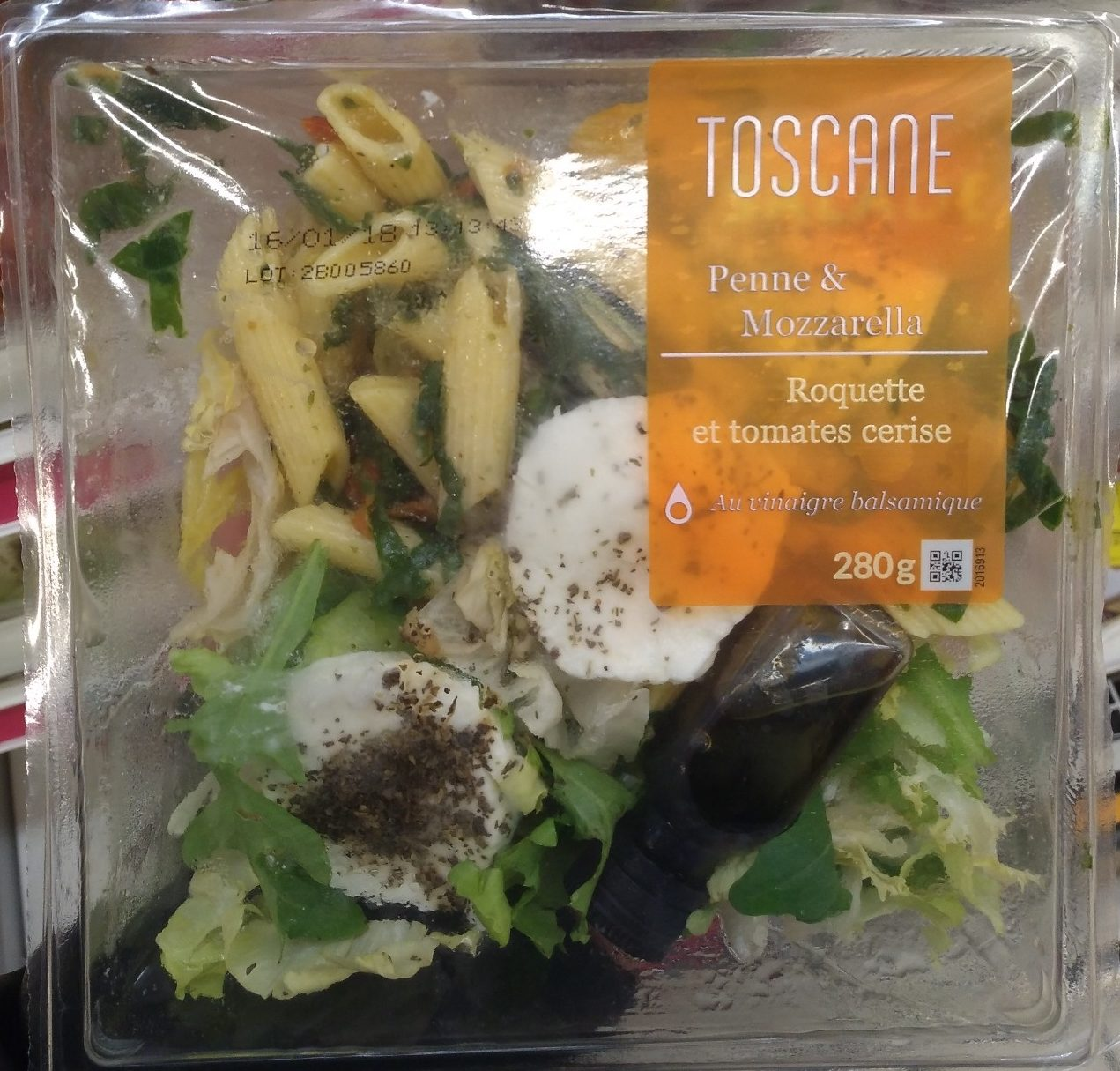 Toscane Penne & Mozzarella - Produit - fr
