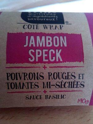 Wrap Jambon Speck, - Produit