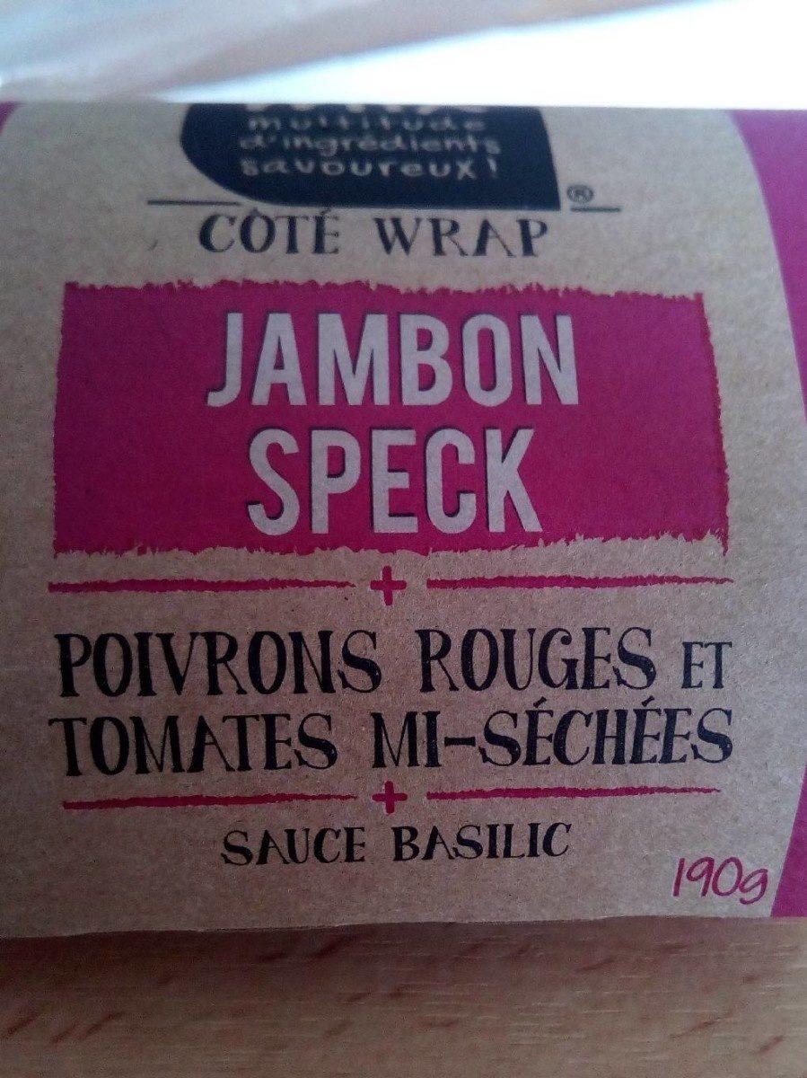 Wrap Jambon Speck, - Produit - fr