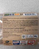 Wrap Jambon Speck, - Informations nutritionnelles - fr
