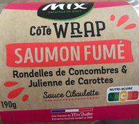 Wrap saumon fumé - Produit
